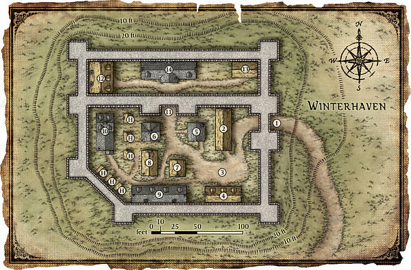 Winterhaven - KotS map