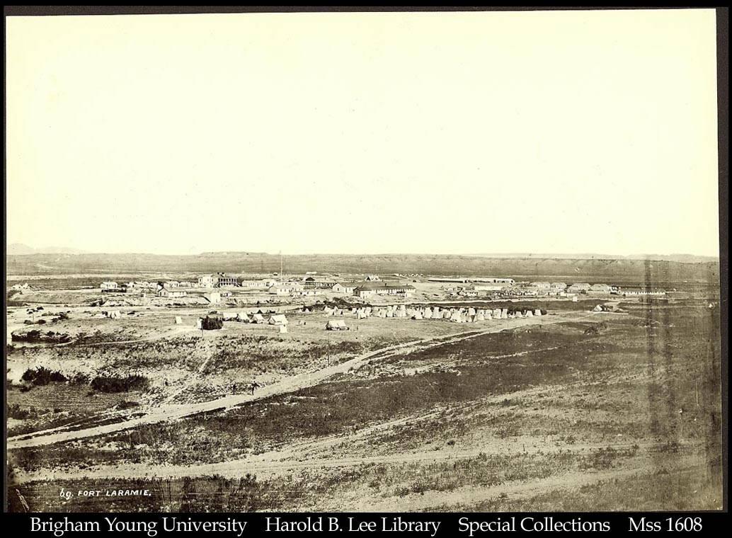 Jackson  william henry   fort laramie   1868