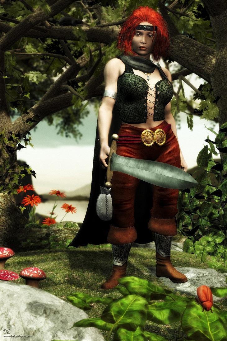 Dwarf warrior by designs by eve