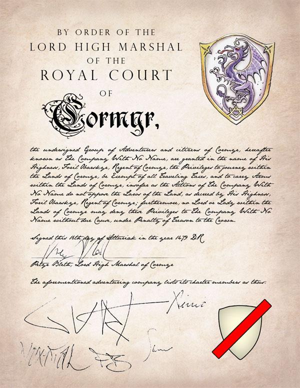Adventuring Charter