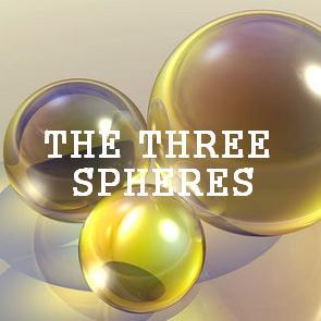 3 spheres