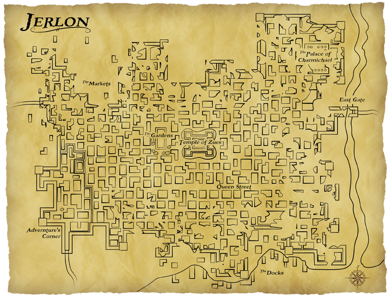 Jerlon map