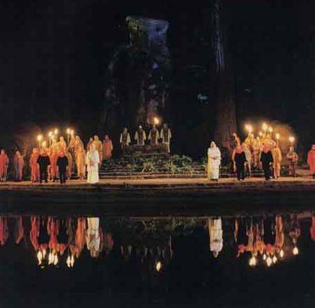 Bohemian grove satanic gathering