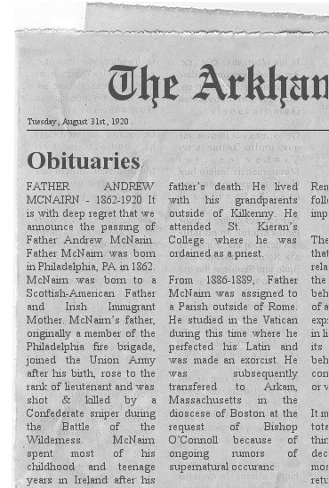 Arkham advertiser august 31st 1920
