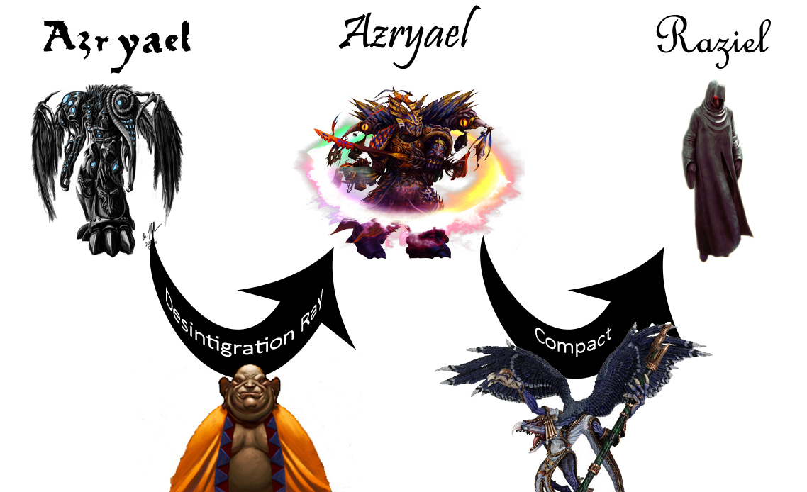 Azryael evolution