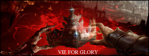 vie for glory