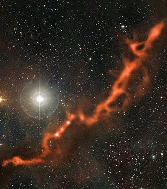 Apex star forming filament taurus