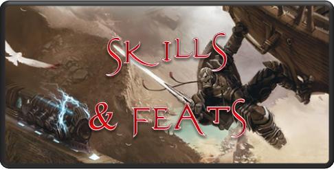 Skills feats