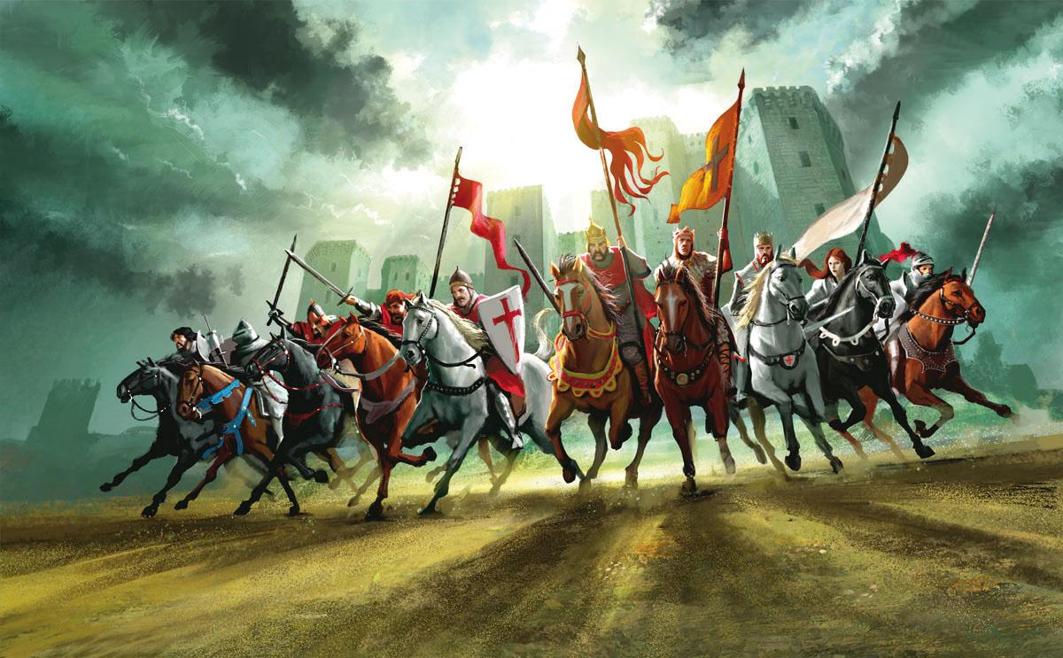 Valdorian knights charging 1