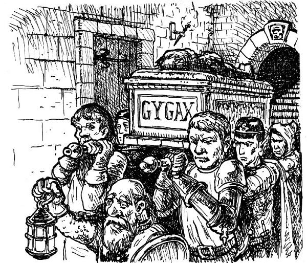 Gygax Burial