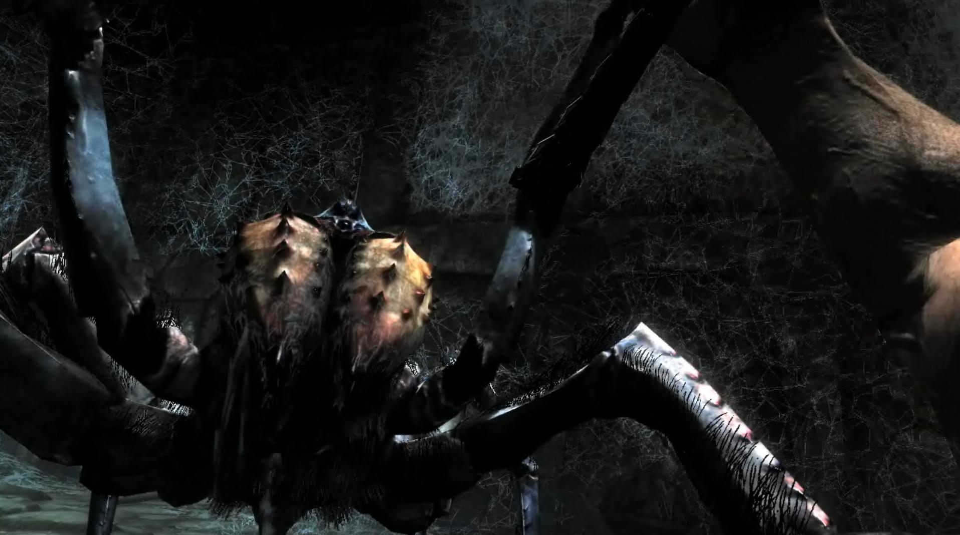 Skryim trailer analysis 24 spider bash