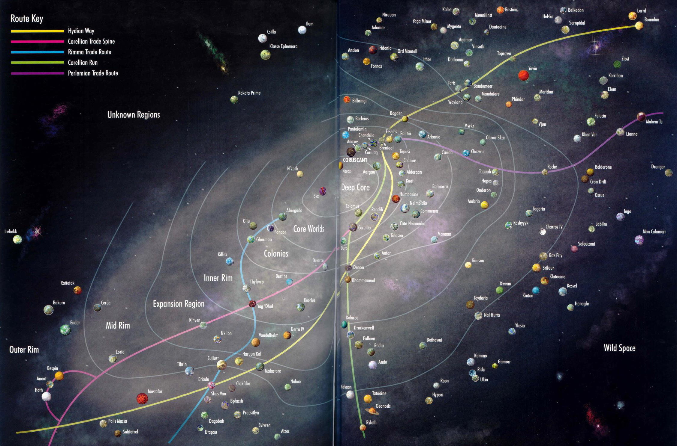 Swtor planets galaxy map