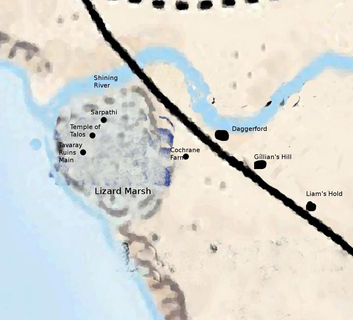 Lizard marsh wiki