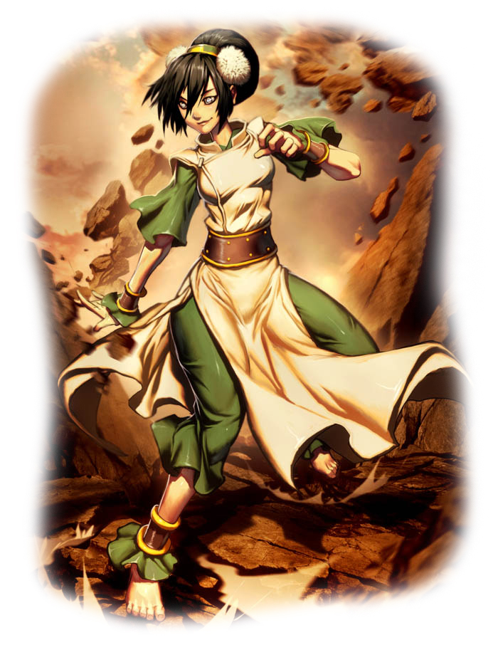 Toph bei fong earth master big