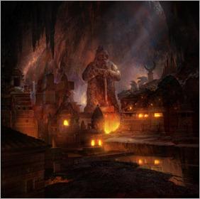 Dwarven city   d  rnir s forge thumb