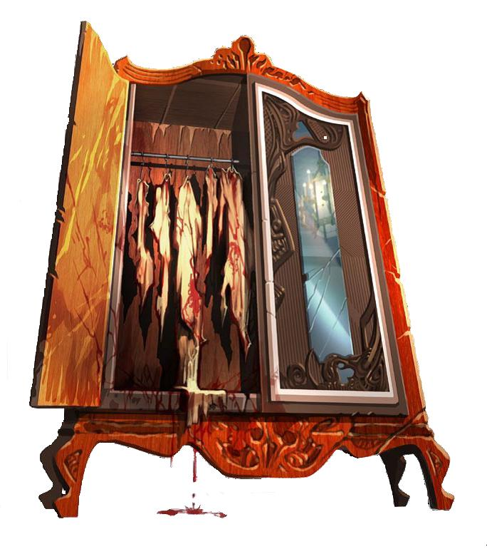 Cabinet of skins and faces