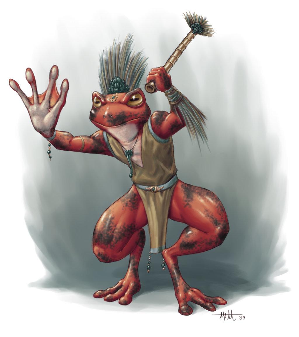 Plavraw shaman by umbrafox
