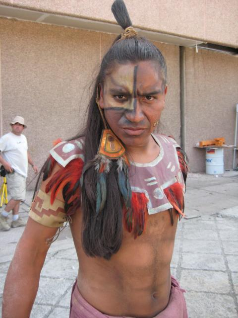 Aztec warrior