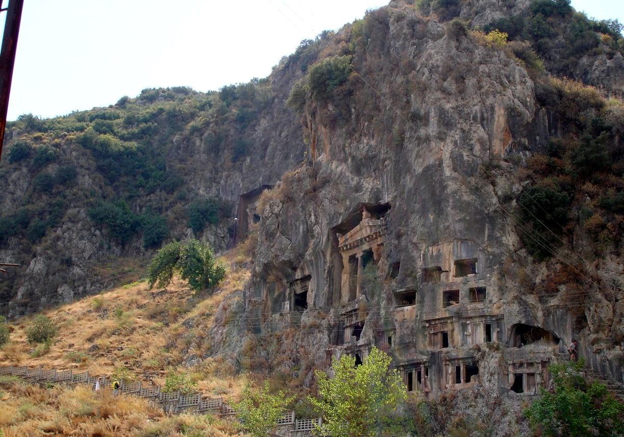 Fethiye ruins photo turkeystourism