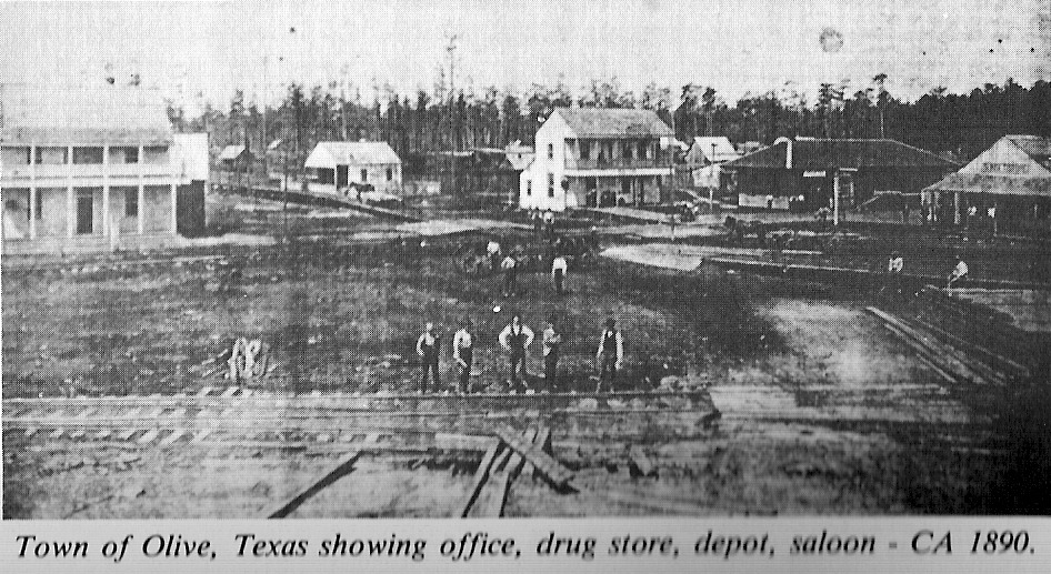 Town of olive texas ca1890