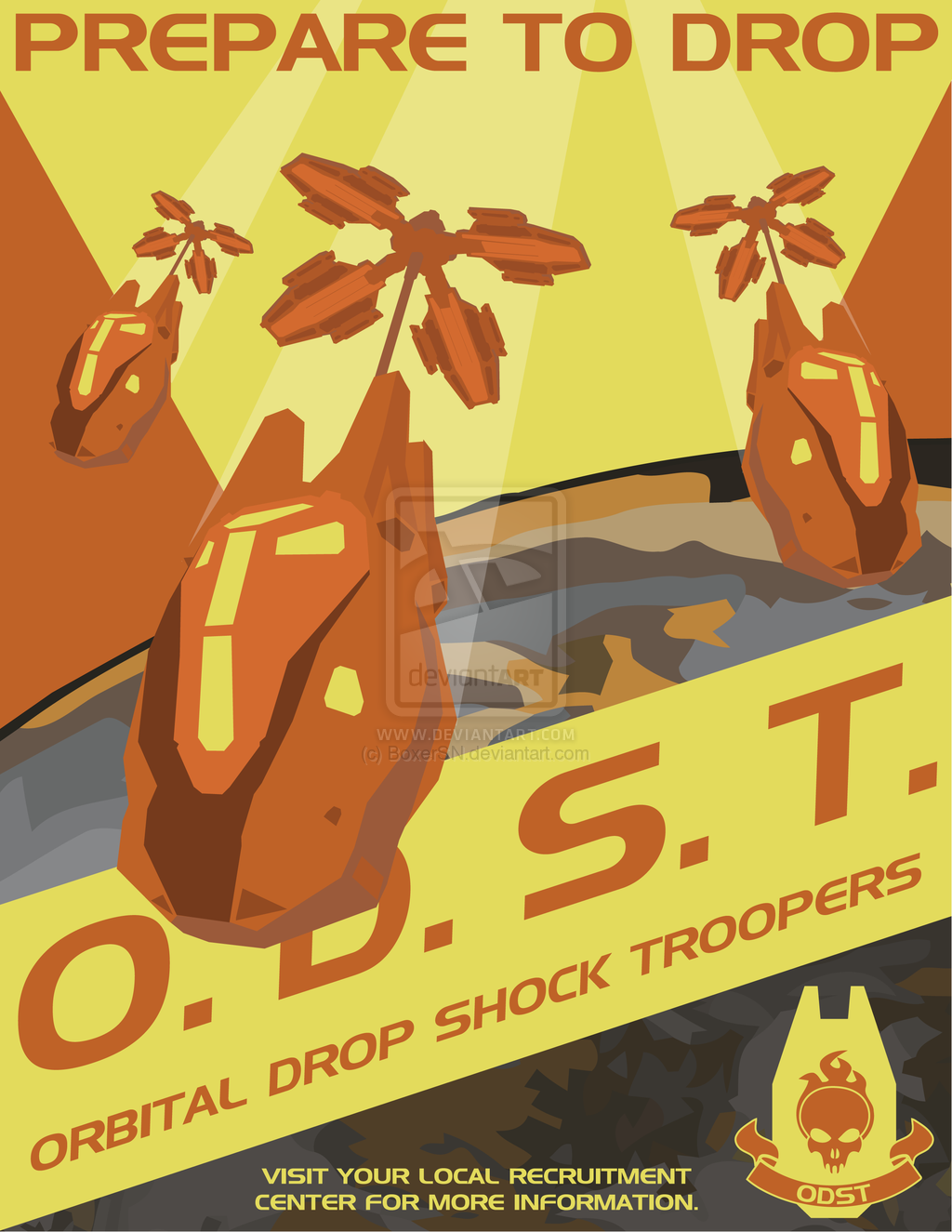Odst poster by boxer sn 1