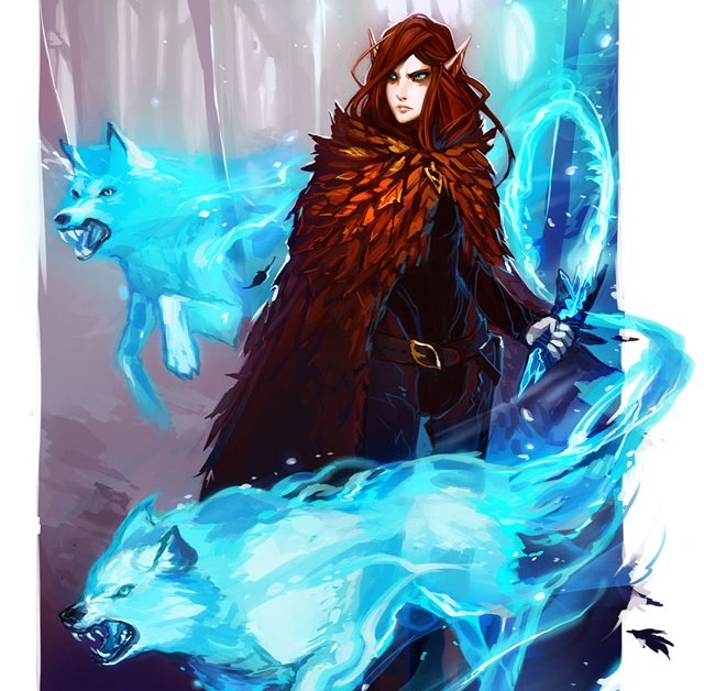 Crystal wolf totem