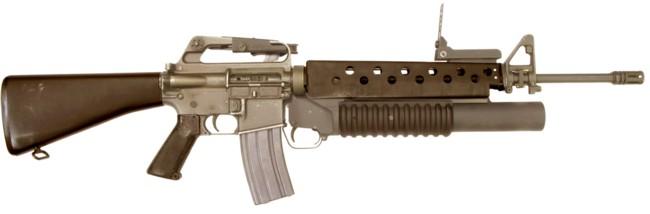M16 a1 m203