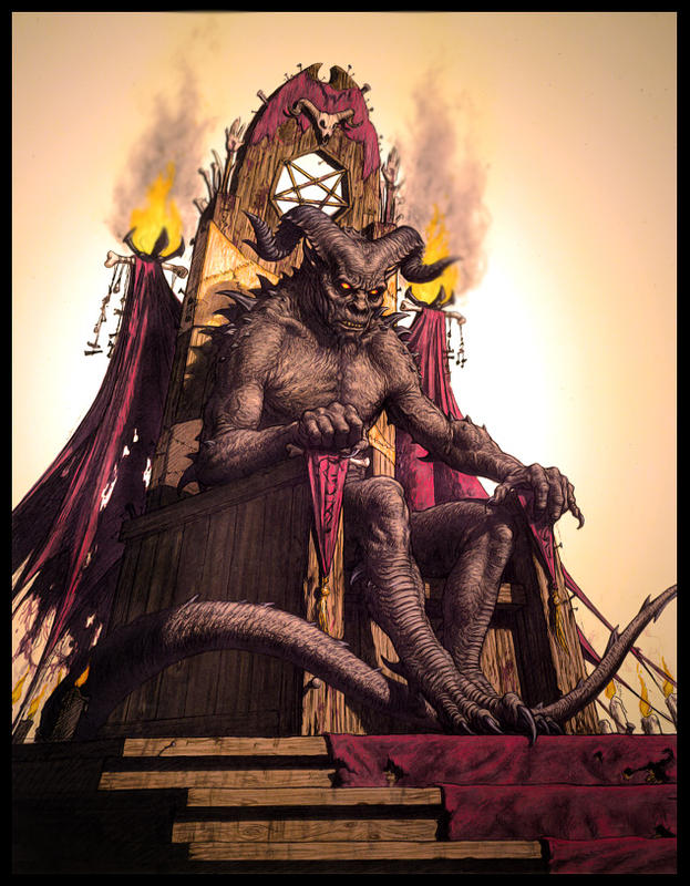 Demon on the throne