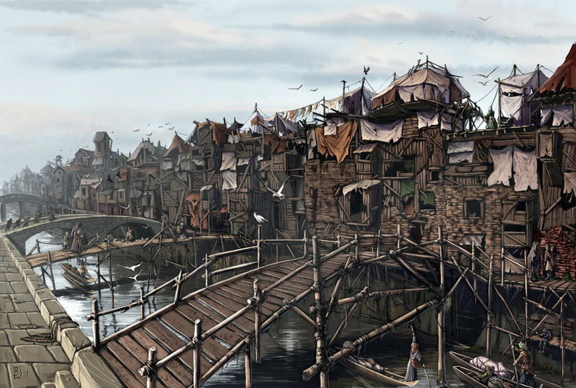 Old korvosa slums by ben wootten