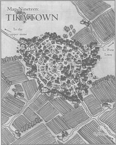 Tika town
