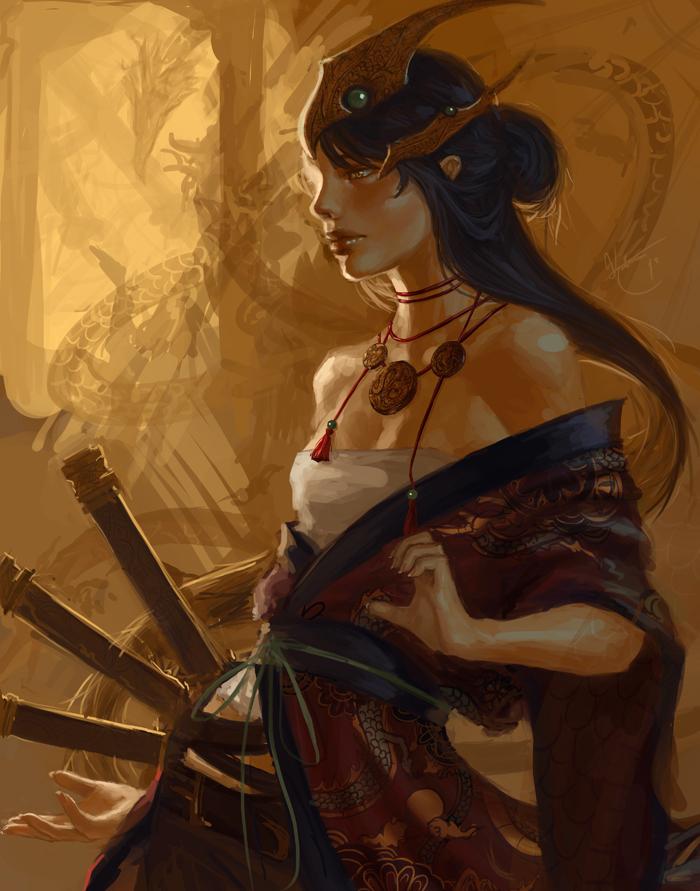 Lady gwuenevar of karokhan