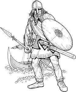 Viking disembark