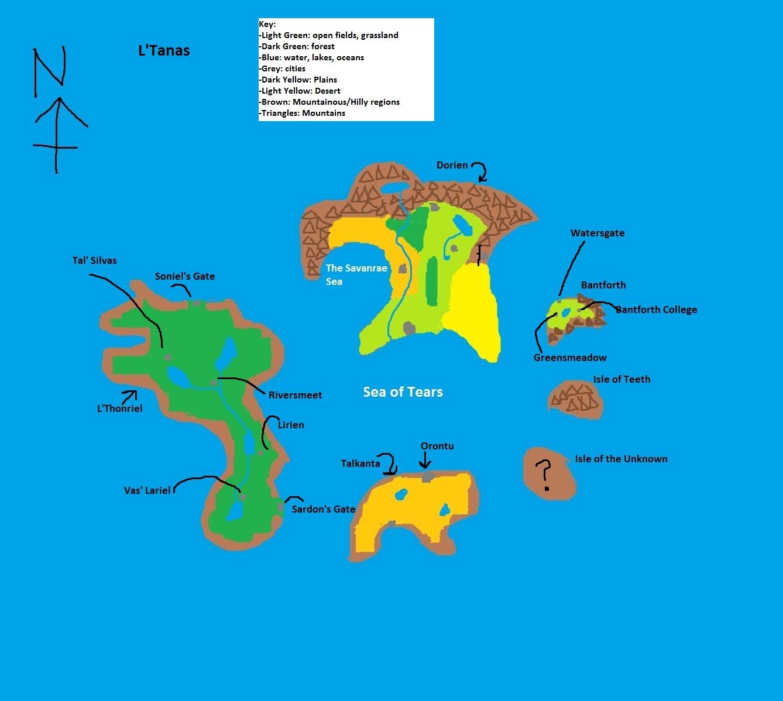 L tanas map
