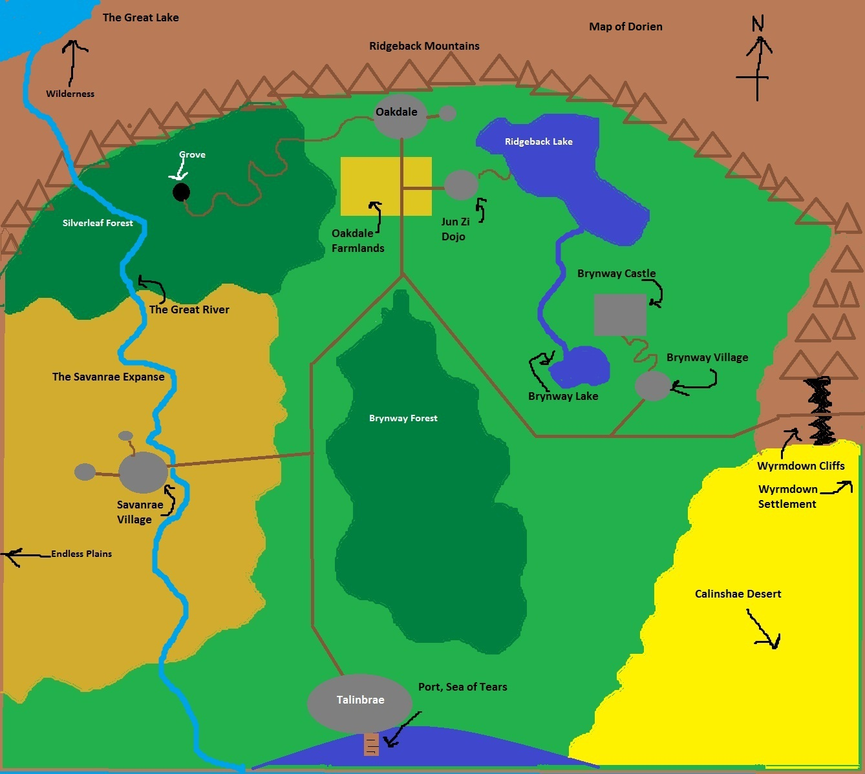 Dorien map