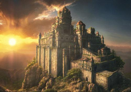Adamantium temple
