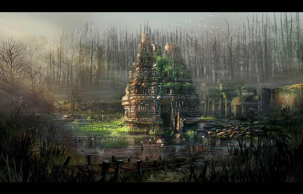 Ruined temple final up