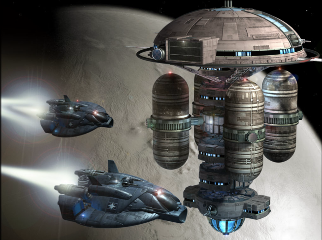 Vigilance class deep space station