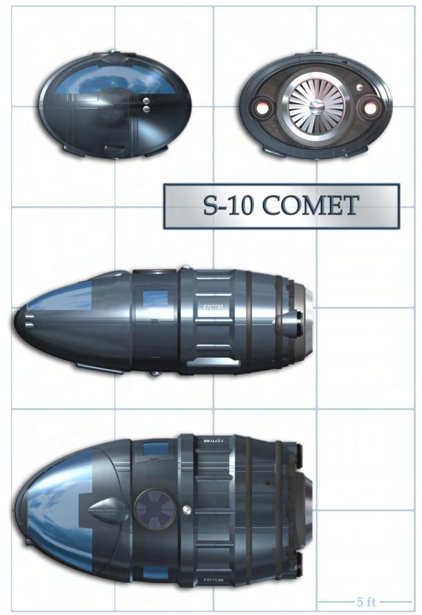S 10 comet
