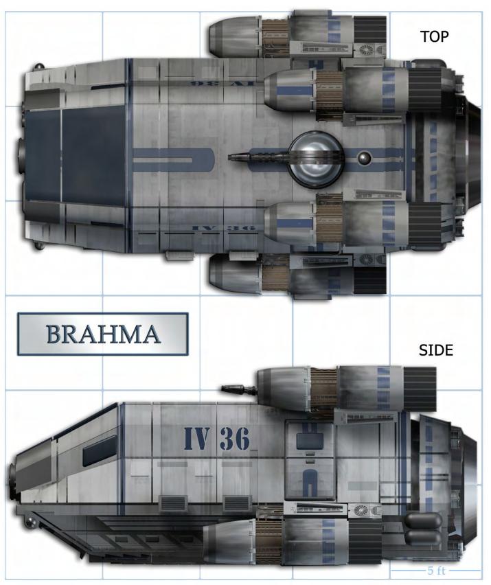 Brahma boarding shuttle