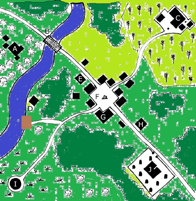 Map of haddonfield
