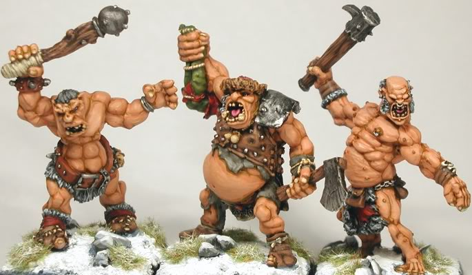 Ogre skirmish