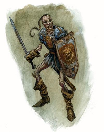 Zombie warrior 1