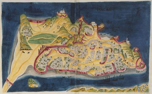 1 macau map 1635