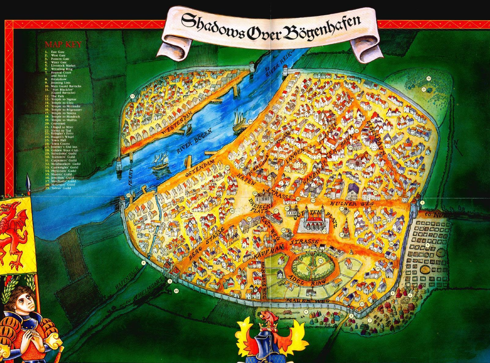 Bogenhafen map 1