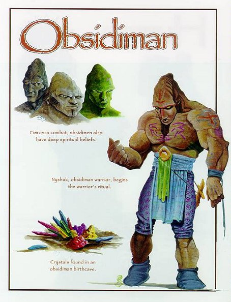 Obsidiman