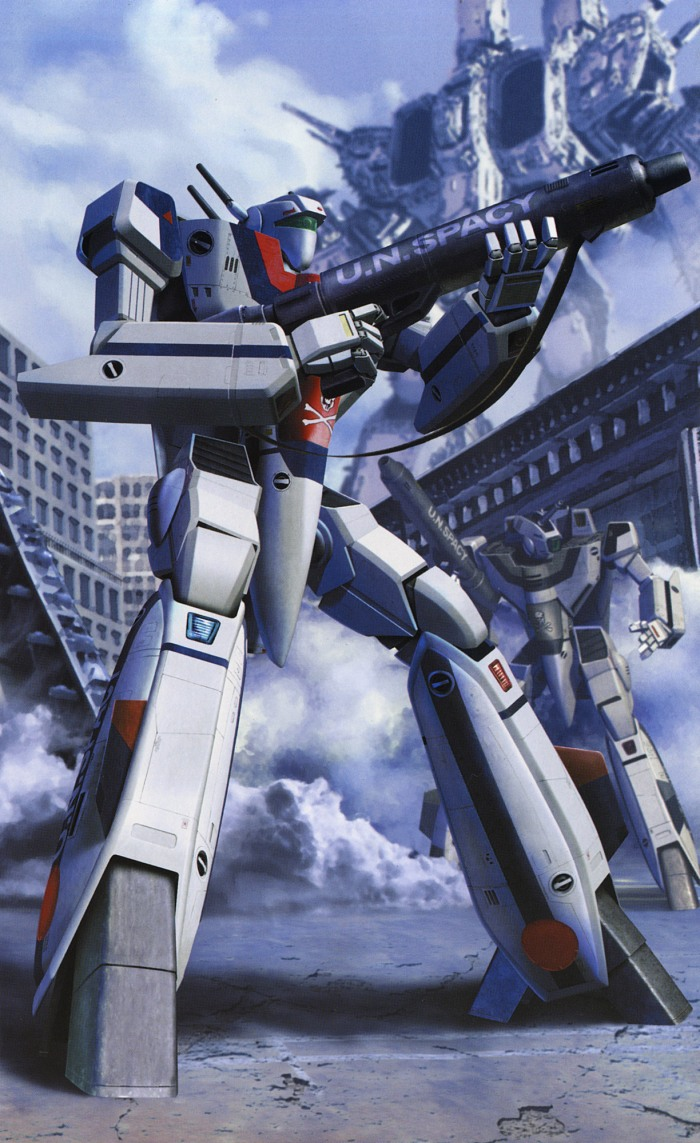 Robotech tenjin hidetaka art works of macross valkyries 11