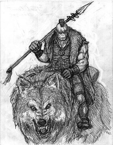 Ork rider