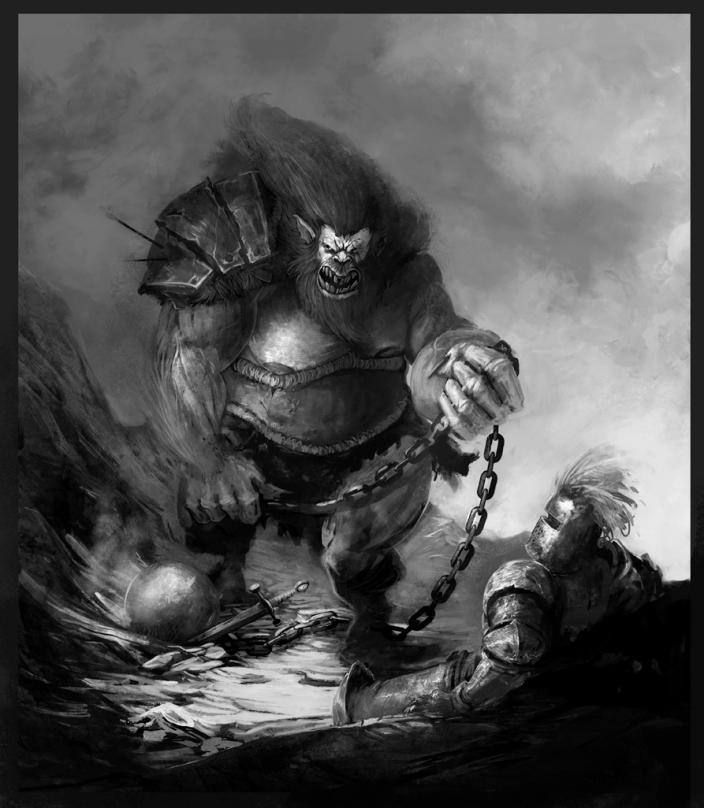 Troll fight