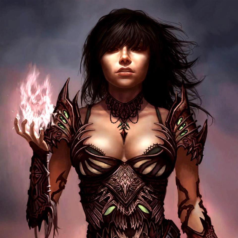Human elementalist