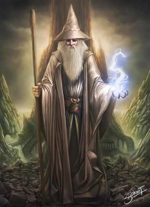 Human wizard